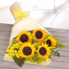 A Ray of Sunshine in a Bouquet