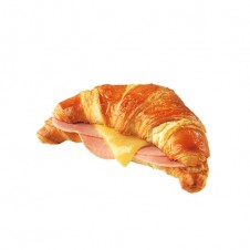 ham and cheese croissant by purple oven