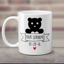 Personalized Ceramic Coffee Mug