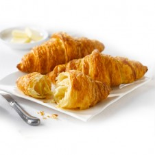 Butter croissant by purple oven
