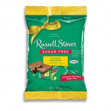 Sugar Toffee Squares by Russel Stover 85g