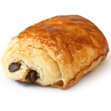 Chocolate croissant by purple oven