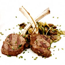 Grilled Lamb Rack by Bizu