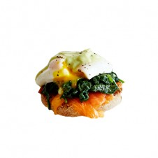 salmon benedict by bizu