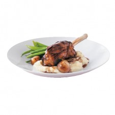Braised Australian Lamb shanks in red wine Jus by Bizu