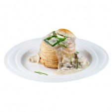Creamy chicken in Vol au Vent by Bizu