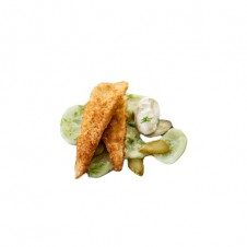 Deep Fried sole with remoulade sauce by Bizu
