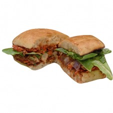 Grilled chicken with sundried tomato pesto ciabatta by Bizu