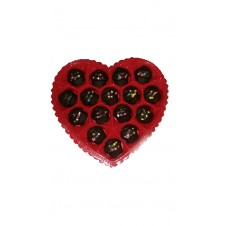 Heart Chocolate Cupcakes by Wilma's Yummy's Cake
