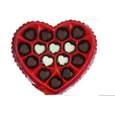 Heart Shape  Chocolate by Wilma's Yummy  Cake