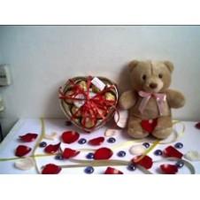 Bear with Heart Chocolates