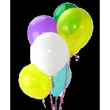 Multicolor Latex Balloons