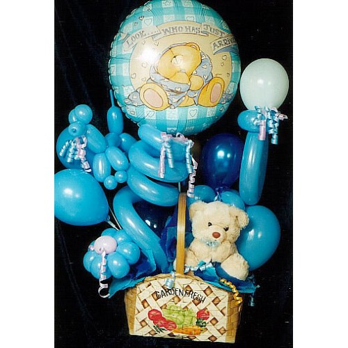 Blue Bear Balloon