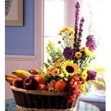 Fruits and Flower Basket