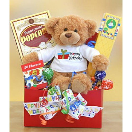 Beary Snack Gift Basket