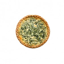 Spinach and feta deep dish Quiche by Bizu