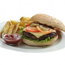 Beef burger by contis
