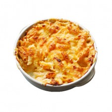 Cheesy baked macaroni by Contis