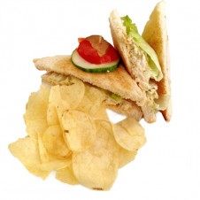 Chicken salad sandwich by Contis