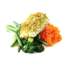Herb crusted fillet of fish by Contis