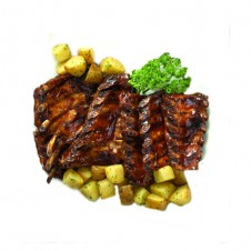 Maple-glaze baby back ribs by Contis