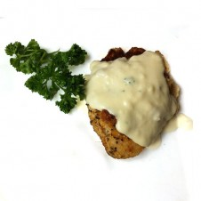 parmesan fish fillet with parsley sauce by Contis