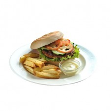 Salmon burger by Contis