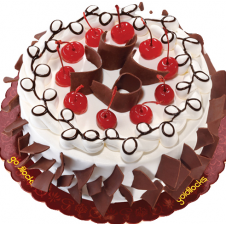 black forest cake by goldilocks
