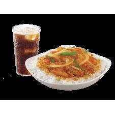 Crunchy Chicken Bulgogi Ricebox by Bonchon