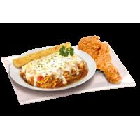 Pasta Chicken Plates