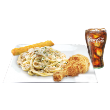 Carbonara and Jumbo Crunchy Chicken by Greenwich