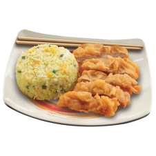 Chinese Rice Meal
