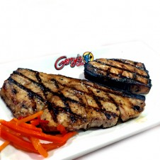 blue marlin steak by Gerry's grill
