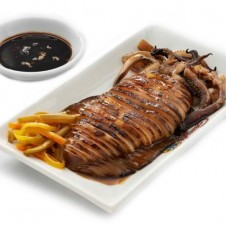Inihaw na pusit by Gerry's grill