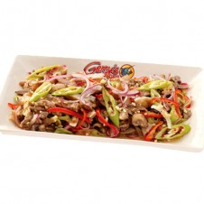 sisig kilaw by Gerry's grill