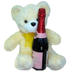 Bear 17 With Champagne Soda