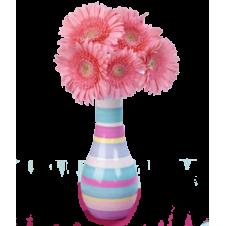 5 Pink Gerberas Bouquet
