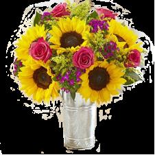 Sunflower Lover's Bouquet