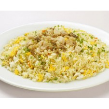 Diced Chicken w/ Salted Fish Fried Rice by Super Bowl