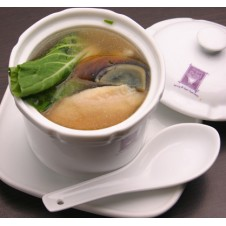 Sliced Fish with Century Egg Soup by Super Bowl