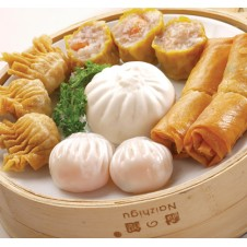 Dim Sum Combination Platter by Super Bowl