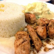 Salmon Salpicao by Contis