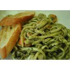 Linguine in Pesto Sauce by Contis