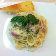Spaghetti Carbonara by Pizza Hut