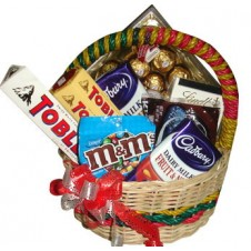Assorted Chocolate Lover Basket 13