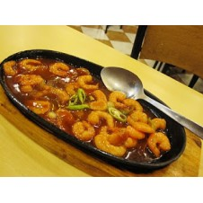 Sizzling Gambas by Bacolod Chicken Inasal
