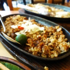 Sizzling Pork Sisig by Bacolod Chicken Inasal
