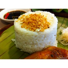Garlic Rice from Bacolod Chicken Inasal