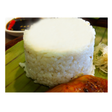 Plain Rice by Bacolod Chicken Inasal