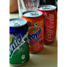 Softdrinks in Can from Bacolod Chicken Inasal